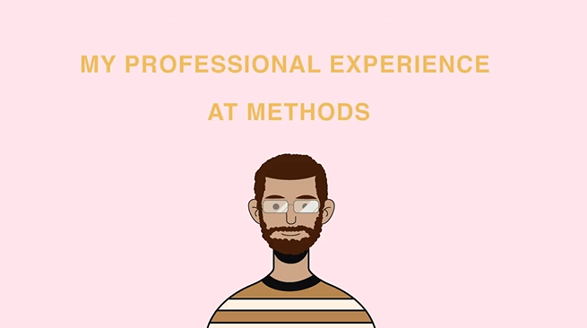 My professional experience at Methods and designing a web