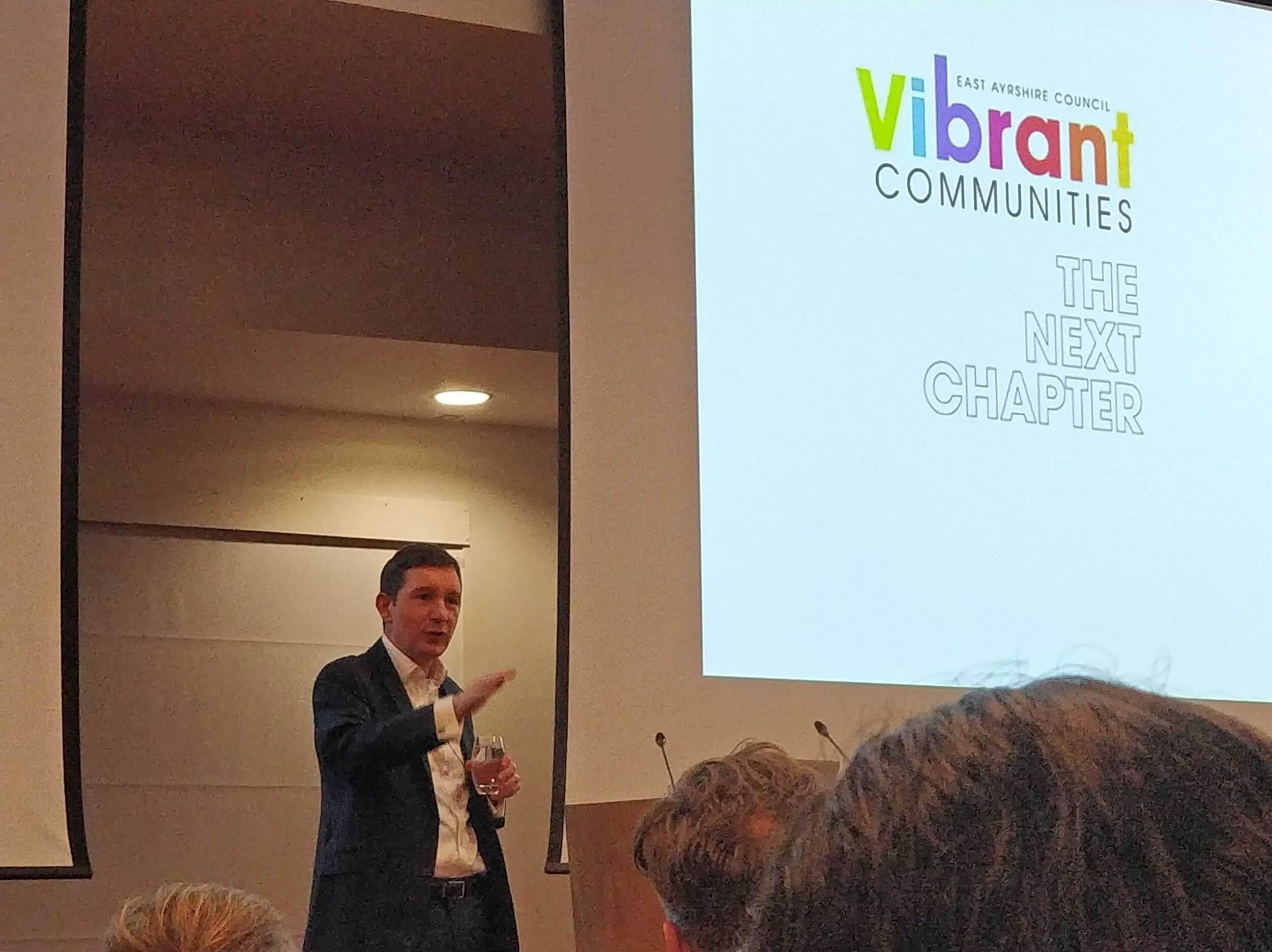 Cormac Russell, MD of Nurture Development