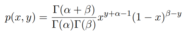 Value of joint probability