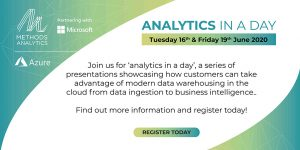 Banner promoting Analytics in a Day