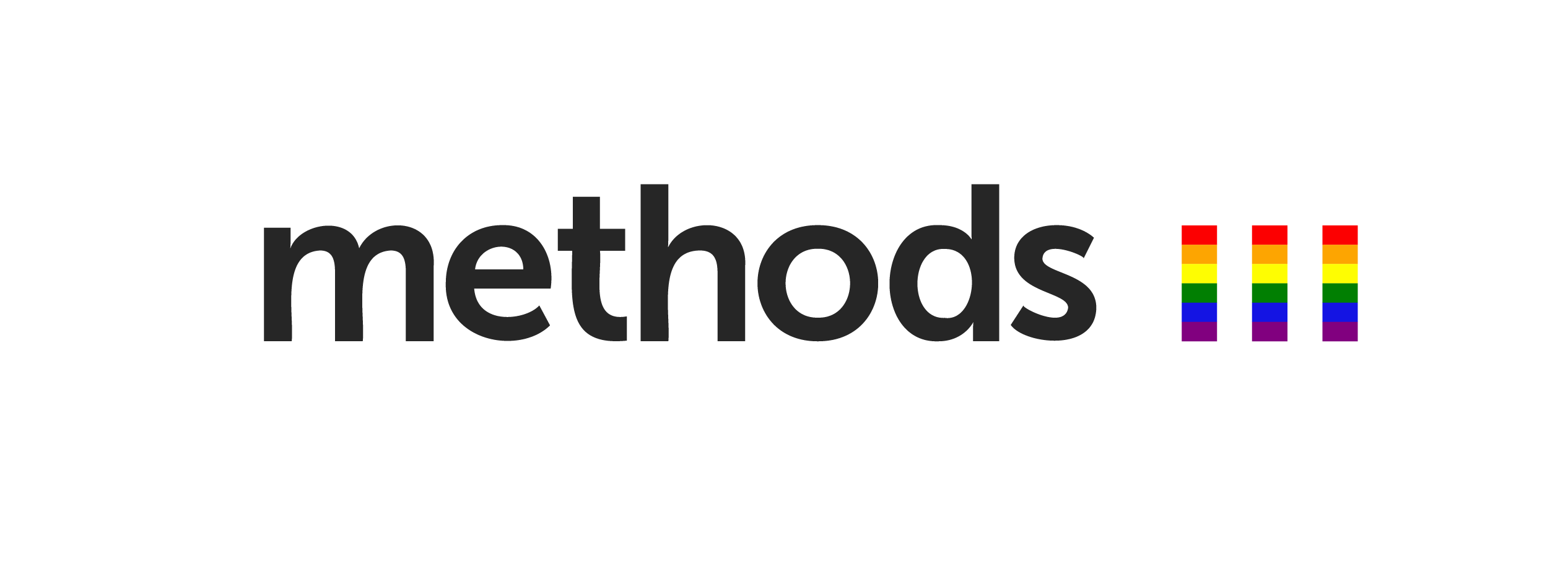 Methods Pride Logo